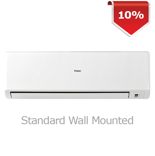 Haier Air Con. 09,000 Btu/hrs. Model-HSU-09CTFWE Image