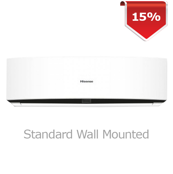 Hisense Air Con. 9000 Btu/hrs. Model-AS-10CR4RYED Image